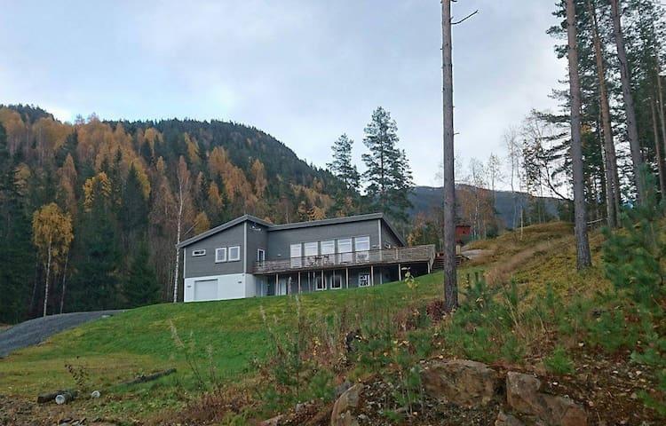 Romslig, komfortabelt hus midt i naturen. - Seljord