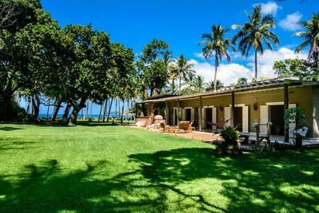 Casa Barequeçaba- 3 Suites- Pé na areia- Beira Mar