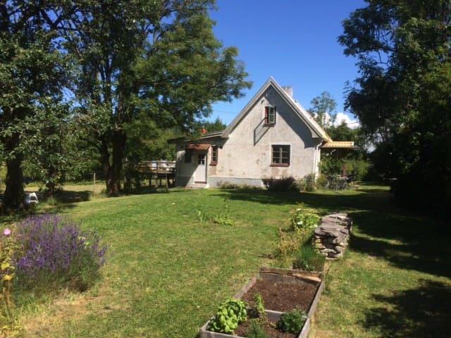 Sommarhus med stor trädgård - Klintehamn - Klintehamn - Hus