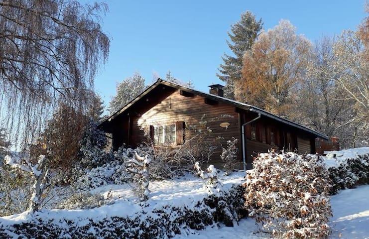 Haus Frei Wald nabij Winterberg, skigebied.