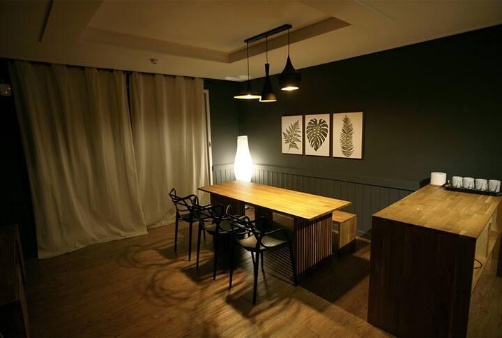 소중한 이와 편안하고 안락한 휴식이 가능한 친환경 공간 Family Room 1(투룸)