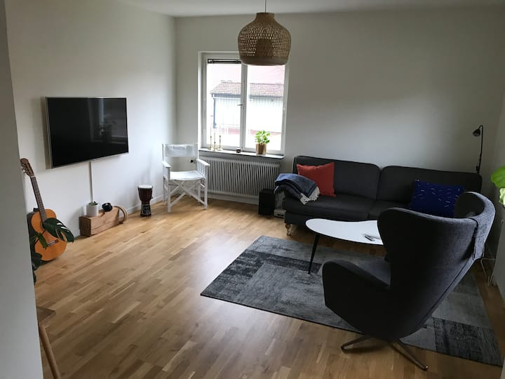 Central apartment with high standard
