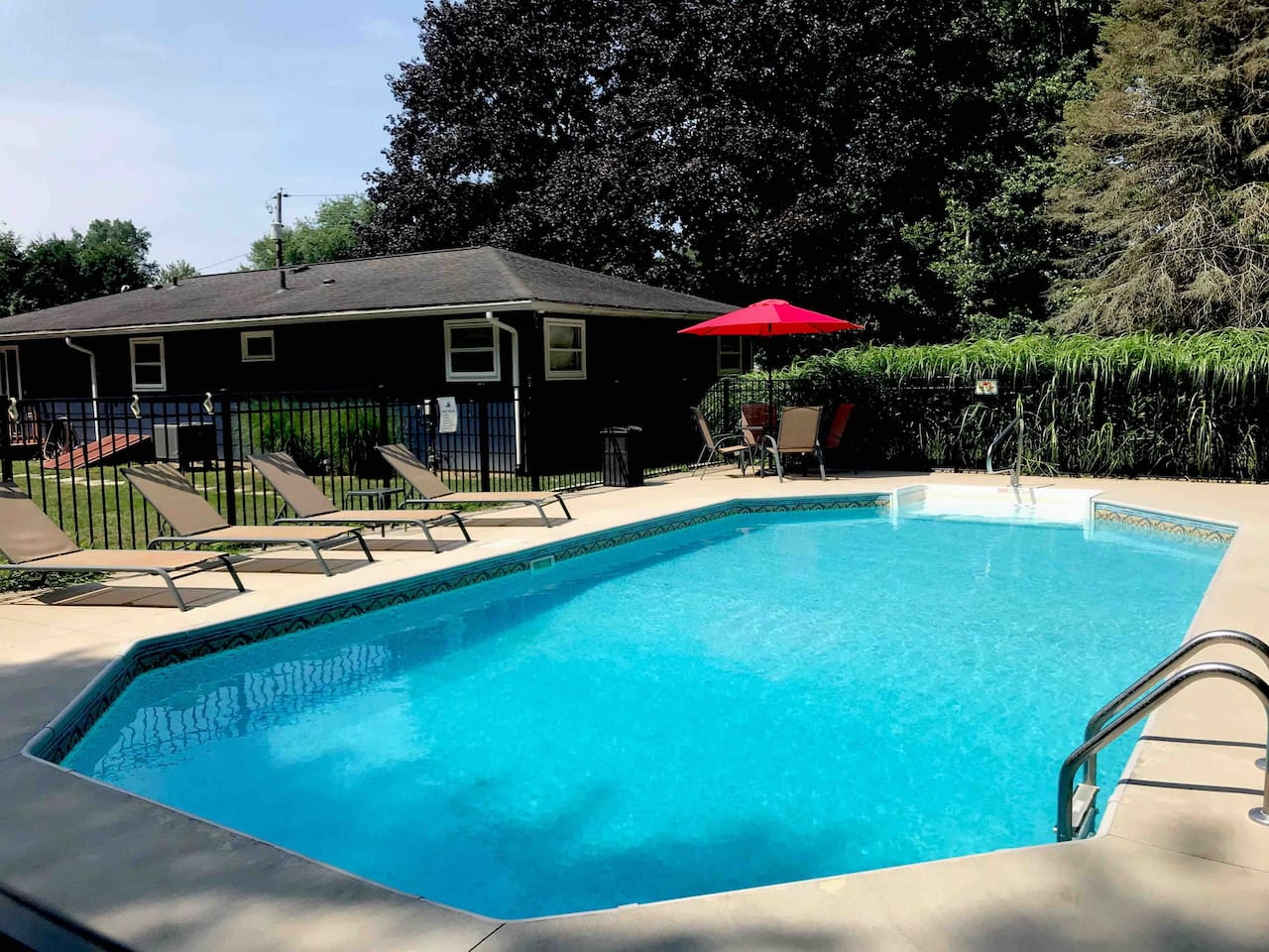Your own private, heated pool!