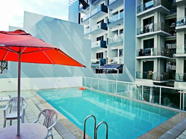 City/Nice location/Condo - Singapur - Wohnung