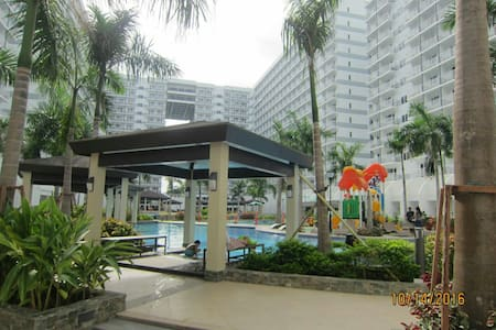 Entire home@ Shell Residences Pasay - 帕赛城 - 公寓