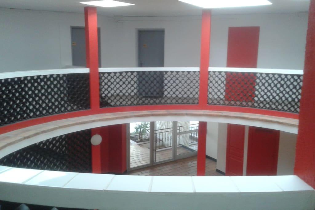 hall d'entrée de la résidence