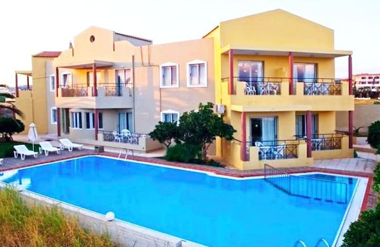Κatrin Beach Apartments - Maleme - Lägenhet