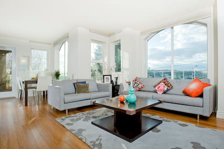 Luxury Condo with lake union views  - Seattle - Appartement