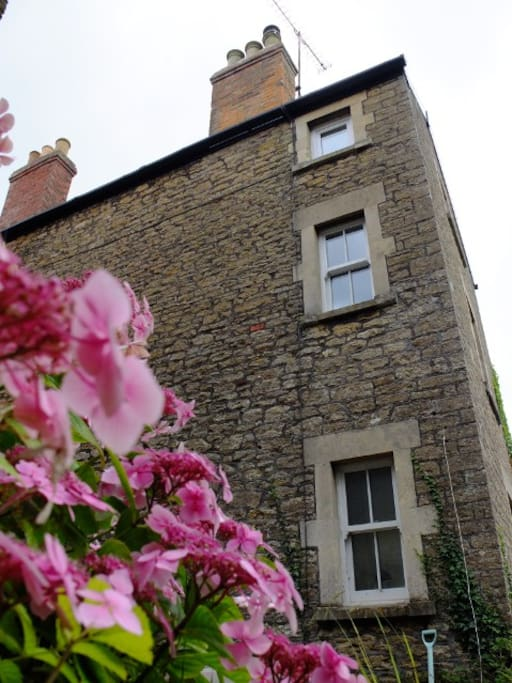 Old Frome stone house
