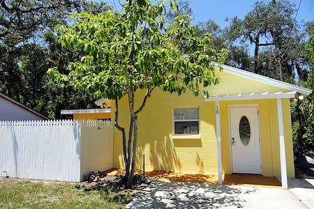 Orange Street Cottage - Tarpon Springs - Ház