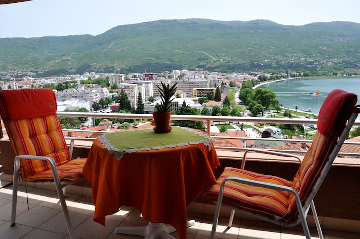 Wonderful Lakeview in the old part - Ohrid - Apartamento