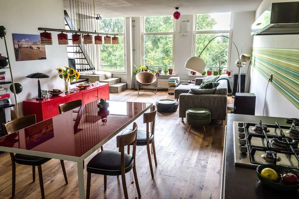 Park canal view spacious central appartamenti in affitto for Appartamenti amsterdam affitto mensile