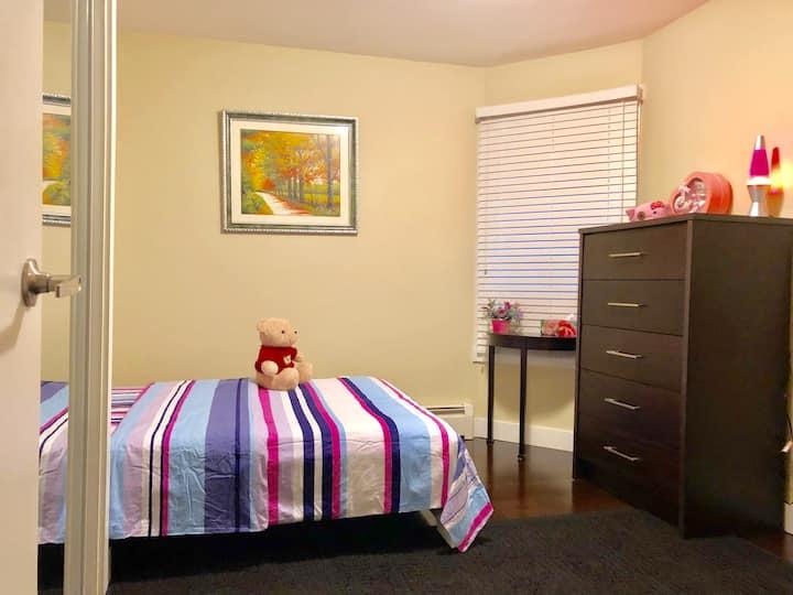 Cozy bedroom in Vancouver