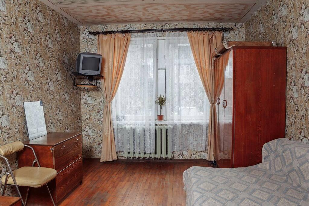 Основная комната , спальня