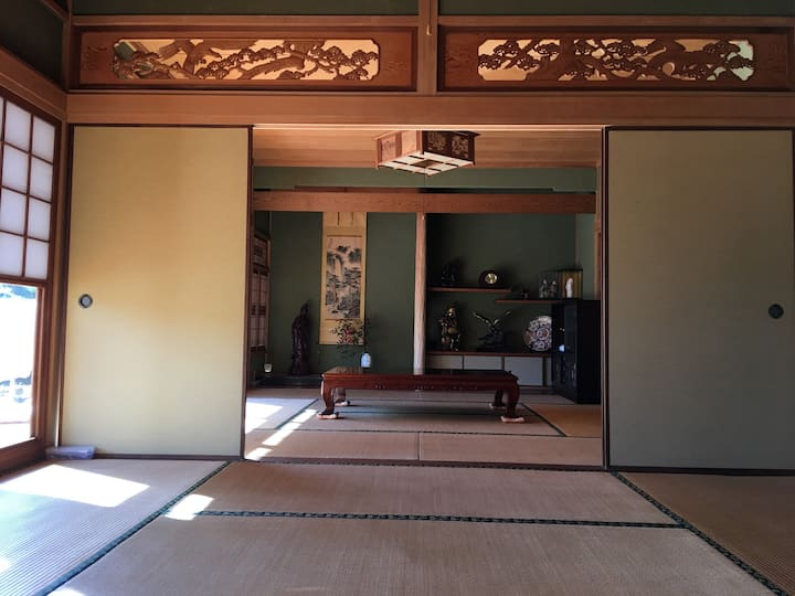 1 group only◆ 2 rooms ◆Traditional Japanese house