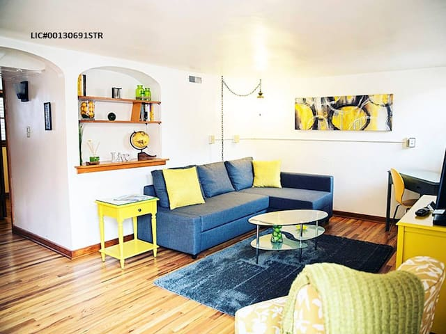 The Fort Apartment: Mid-Century Mod In Old Town