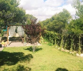 Desconecta en casita de campo en Lago Bolarque.