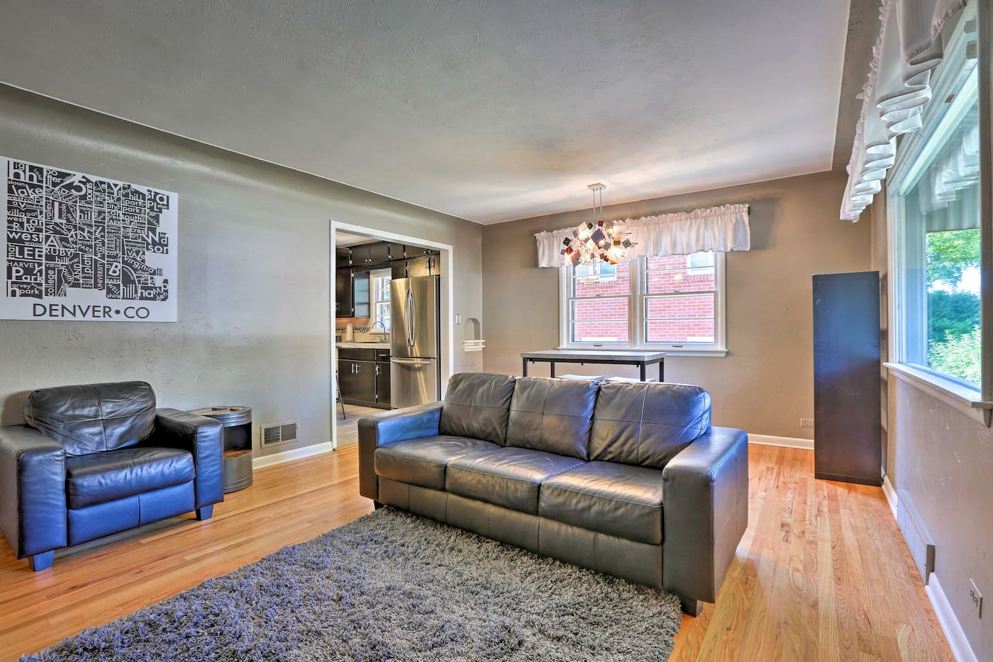 Escape to Denver at this charming 2-bed, 1-bath vacation rental home!