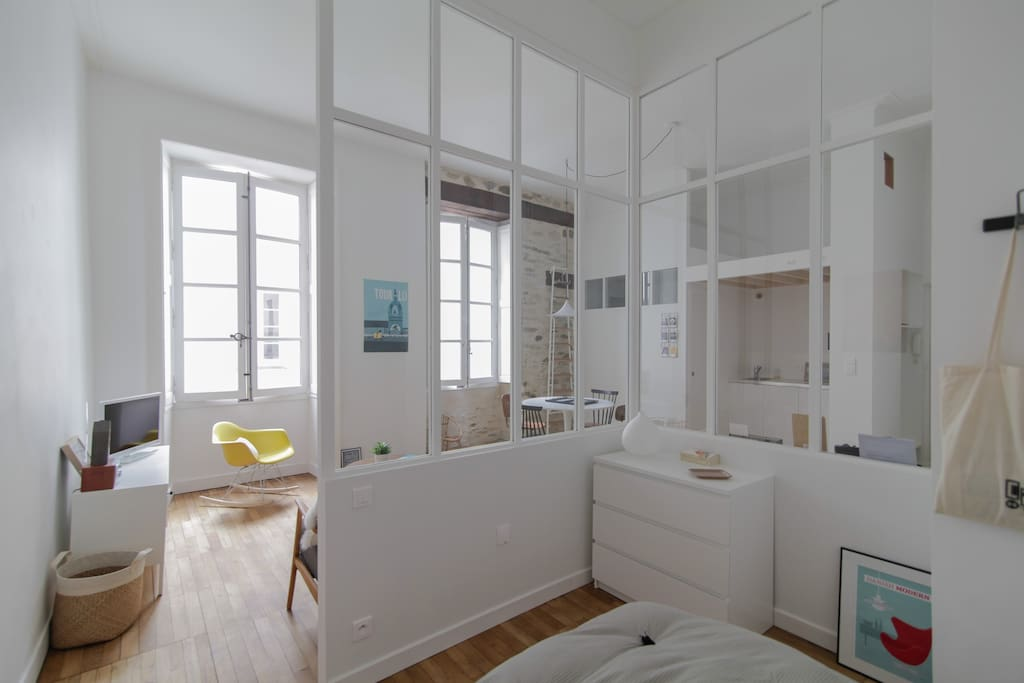 littlepommeraye hypercentre design appartements louer nantes pays de la loire france. Black Bedroom Furniture Sets. Home Design Ideas
