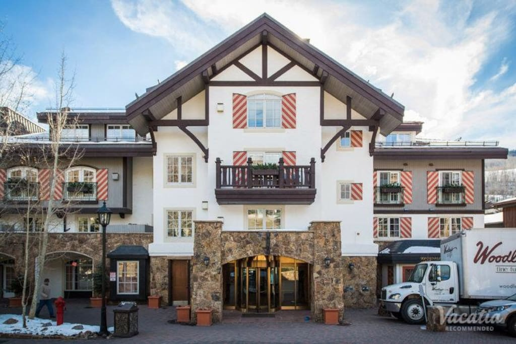 Classic Vail mountain architecture