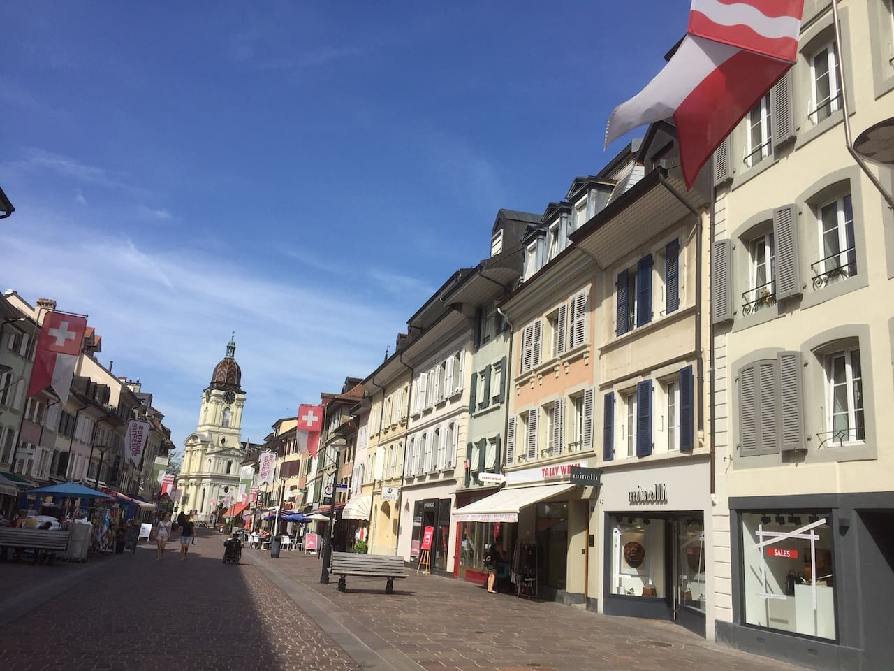 In the heart of Morges