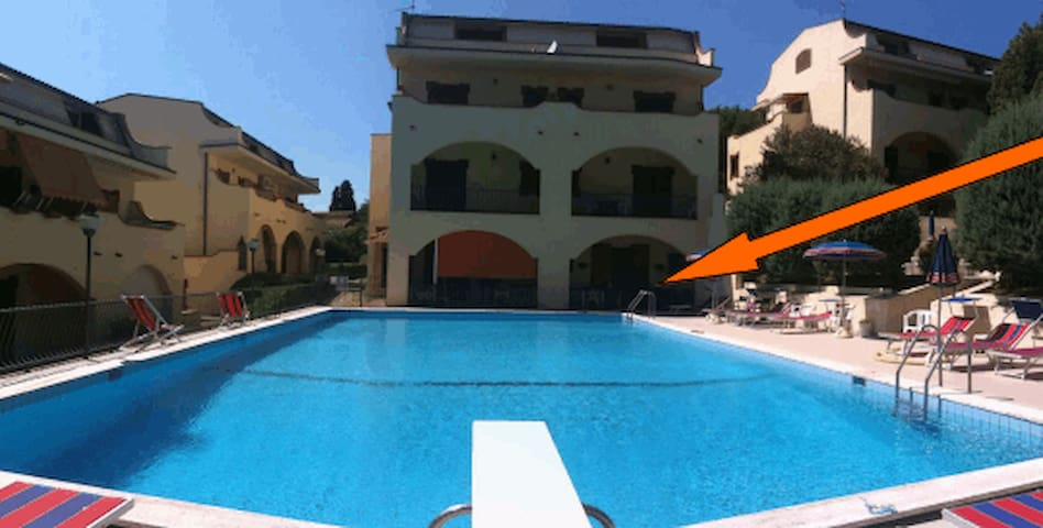 Apartment with swimming pool - 4p. - Gabicce Mare - Wohnung