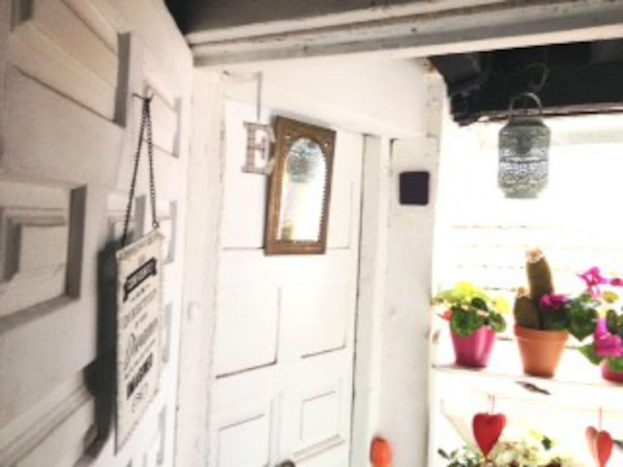 La entrada de la Carbonerita  Carbonerita's Entrance