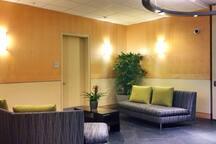 Lobby area on the ground floor