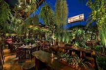 2min walk - Ferringhi  Garden fine dinner