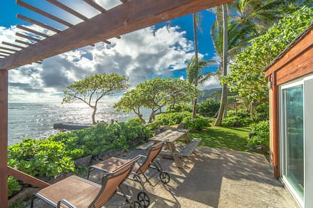 Oceanfront 1bedroom: OCEAN SUN at Tiki Moon Villas - Laie