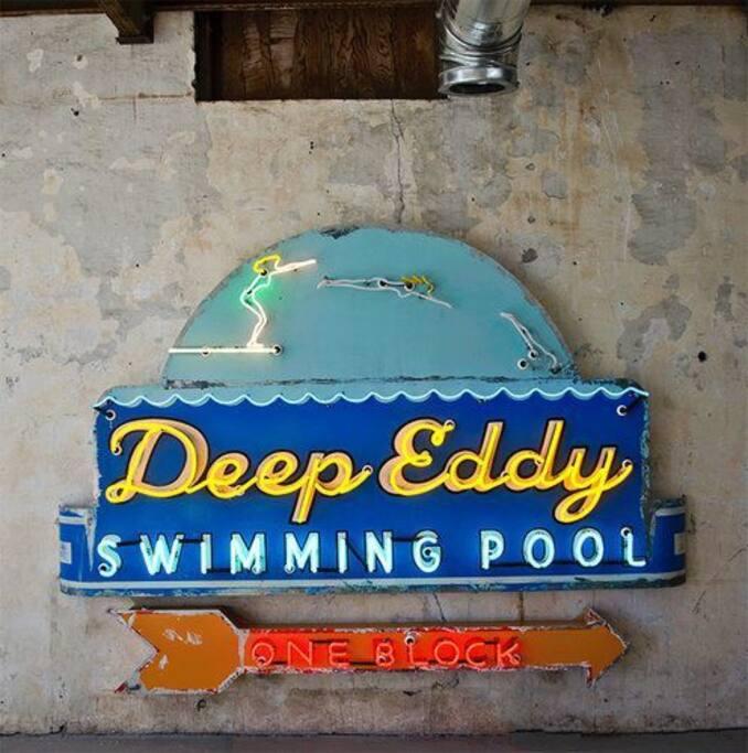 Deep Eddy, a swimming hole favorite.