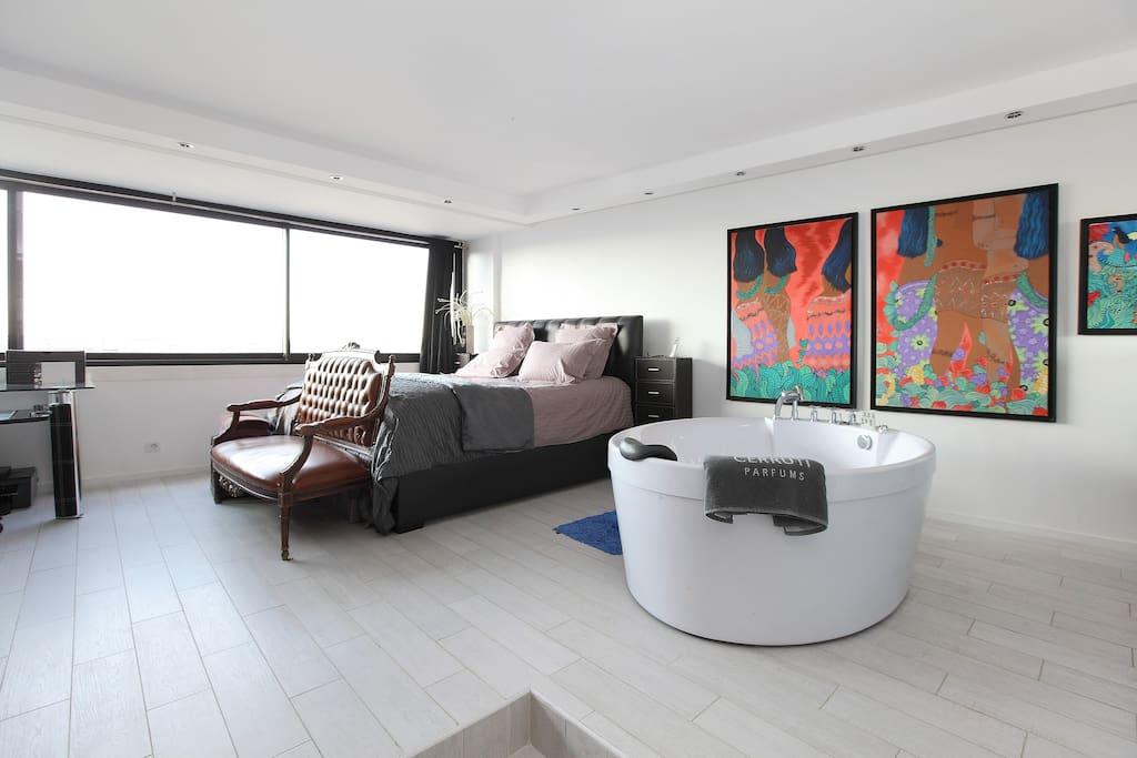 Oustanding Loft With View On Paris Wohnungen Zur Miete In Paris Le De France Frankreich