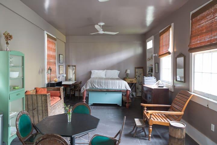 Garden Studio in a Historic Home