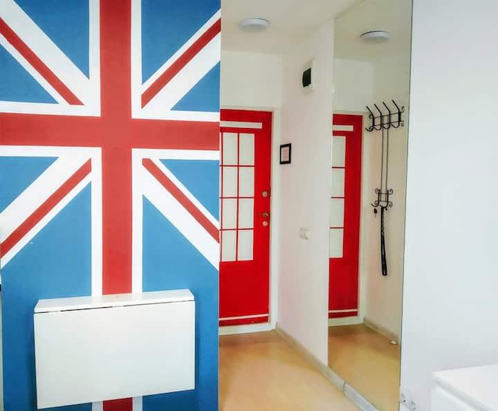 """Номер-студия """"Лондон"""", центр, ул. Красная/Одесская"""