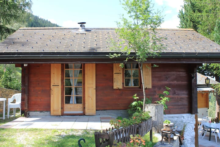 Romantic Chalet in the Alpes - Vercorin - Bungalo