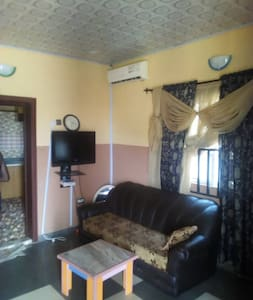 Furnished 2 bedroom apartment with Air Conditioner