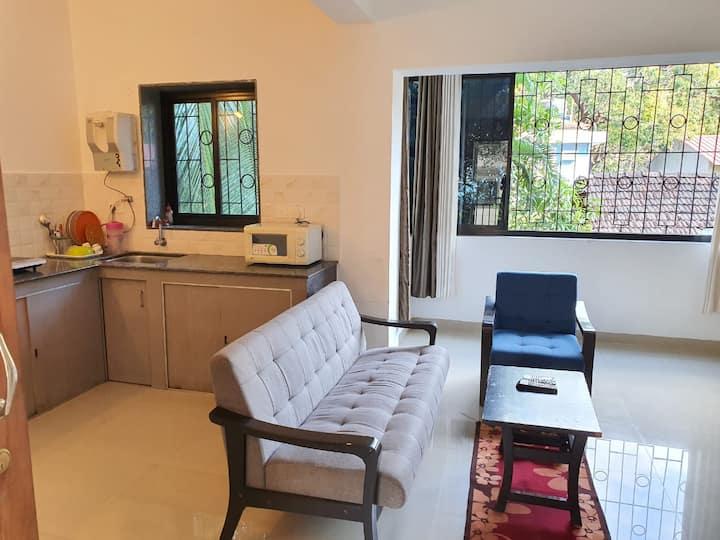 """Aquamarine Service Apartment 1 BHK"""" 2 @ Baga Goa"""