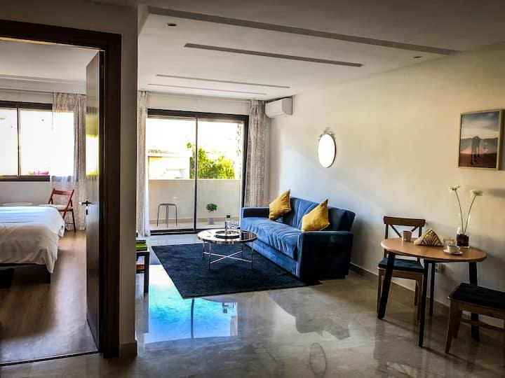 Gorgeous Studio Apartment near Twin Center/ Maarif