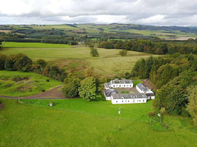 Kirkwood cottages at RealFarmHolidays, Scotland