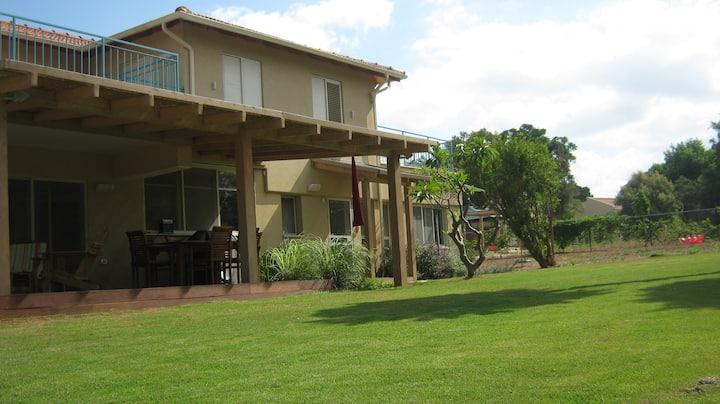 Villa near the Mediterranean beach