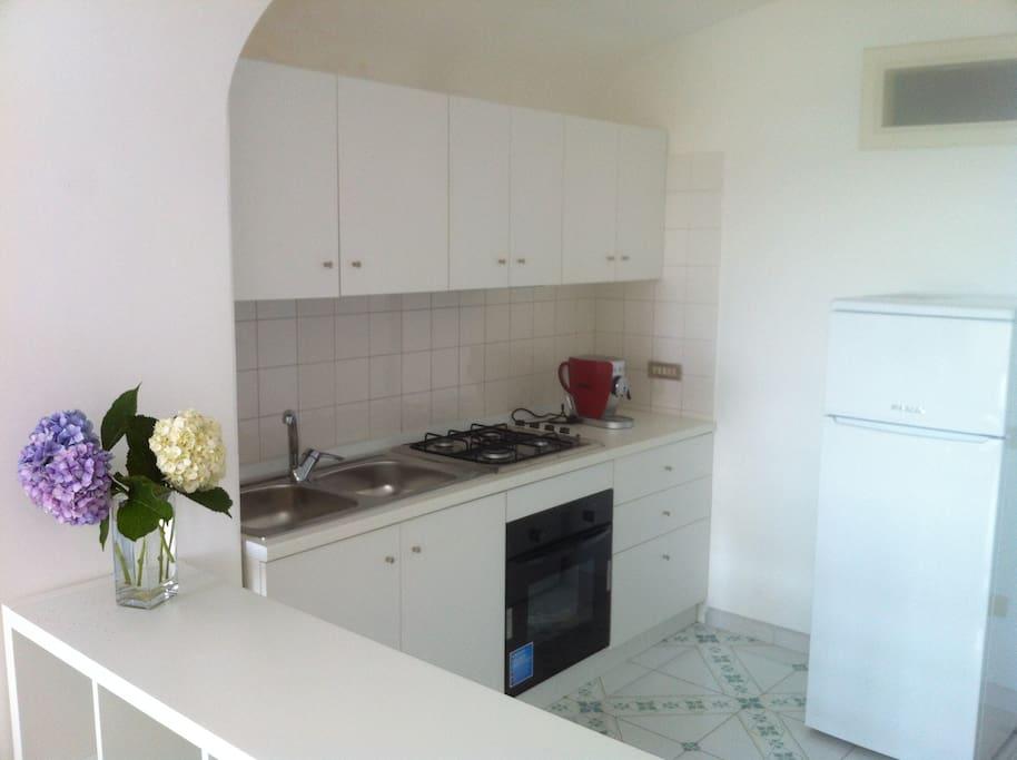 Appartamento con cucina e soppalco loft in affitto a - Cucina con soppalco ...