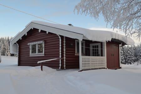 Tømmerhytte / Loghouse cabin