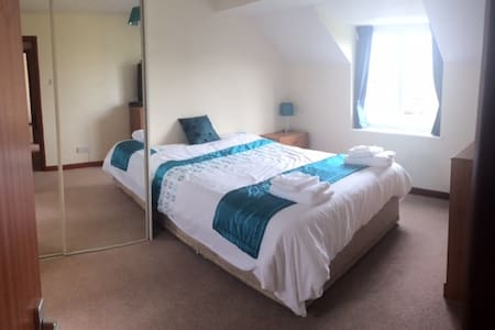 Bright En Suite King Size Room - Plymouth - Rumah