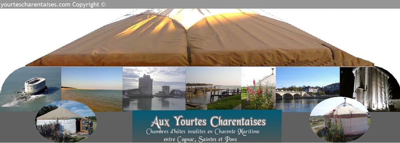 Nuit magique Yourtes Charentaises - Salignac-sur-Charente - Yurt