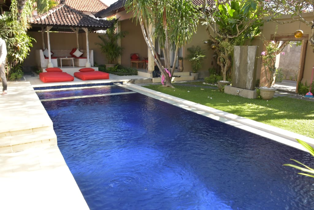 POOL WITH SEPARATE CHILD AREA
