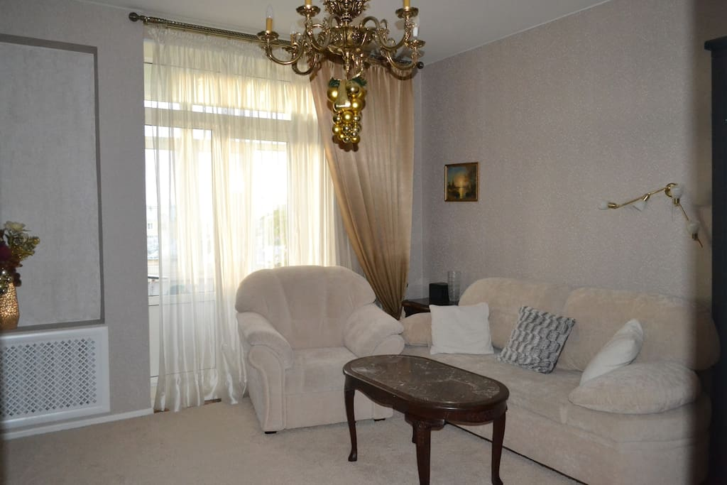Первая комната/First room