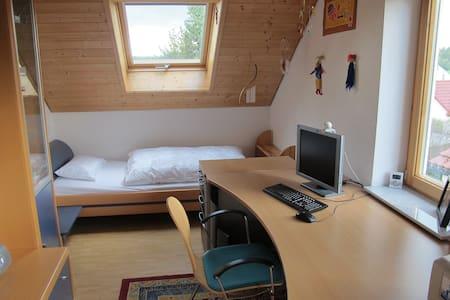 Zimmer mit Bad und Dusche - Vogt - Casa