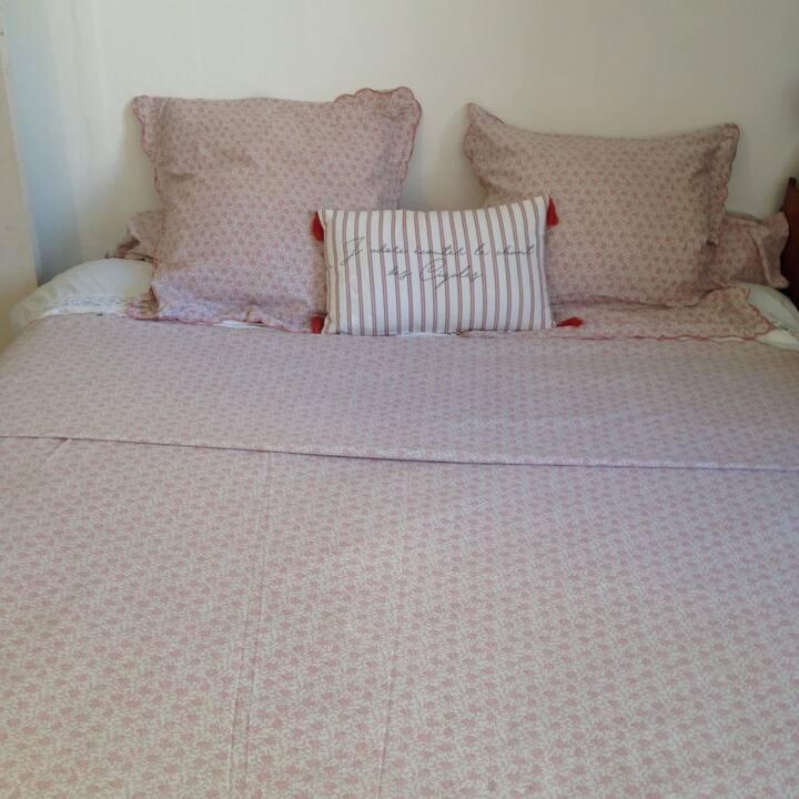 Chambre spacieuse tout confort, accueil chaleureux
