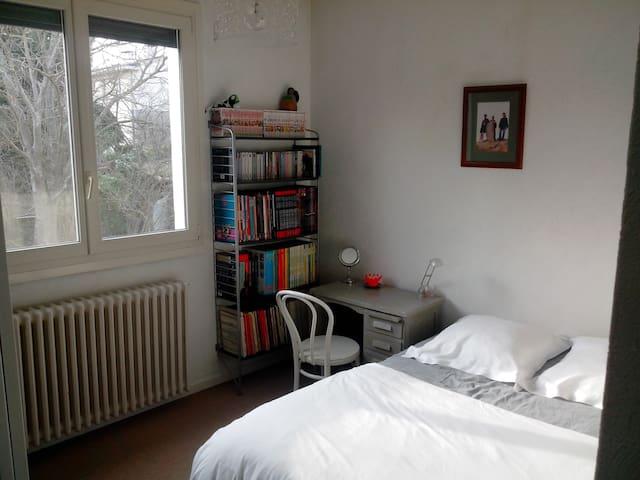 Chambre vue jardin, BD/bureau - Ramonville-Saint-Agne - Townhouse
