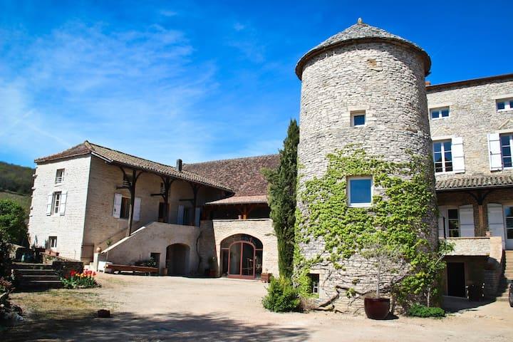 Burgundy, La Tour de Bassy - Saint-Gengoux-de-Scissé - Casa